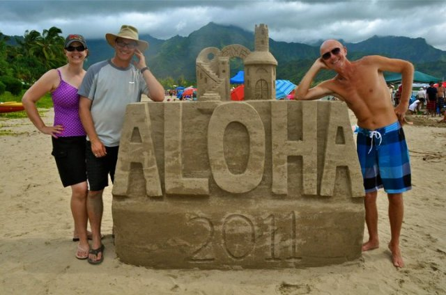 Founders of Hawaii Sand Festival